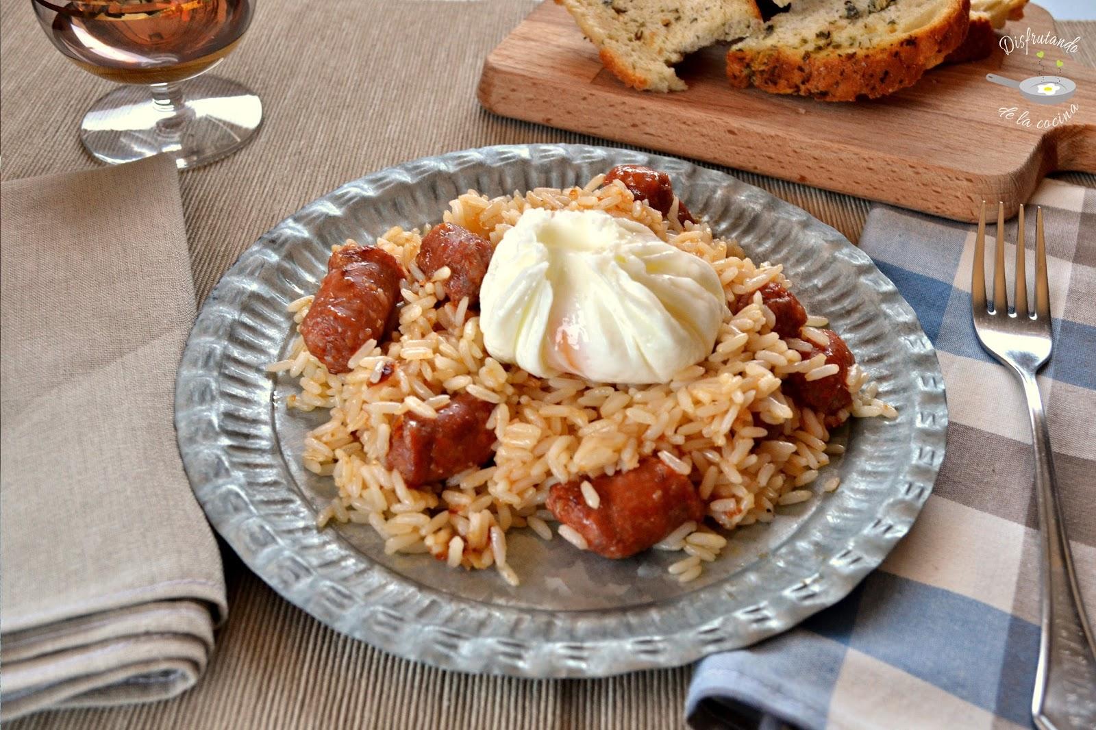 Disfrutando de la cocina - Salteado de arroz ...