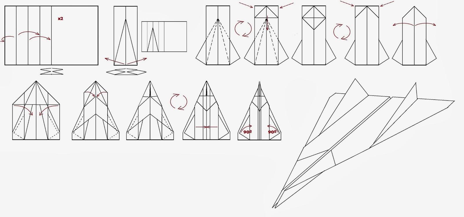 Avión de papel Wing 52