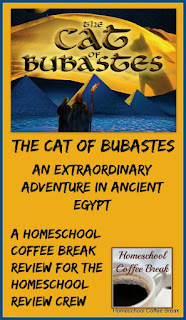 An Extraordinary Adventure in Ancient Egypt - The Cat of Bubastes from Heirloom Audio Productions -  A Homeschool Coffee Break review for the Homeschool Review Crew @ kympossibleblog.blogspot.com