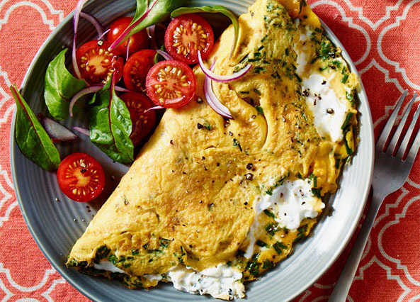 Omelette and Frittata Recipes Compressed_Omelette-goatscheese