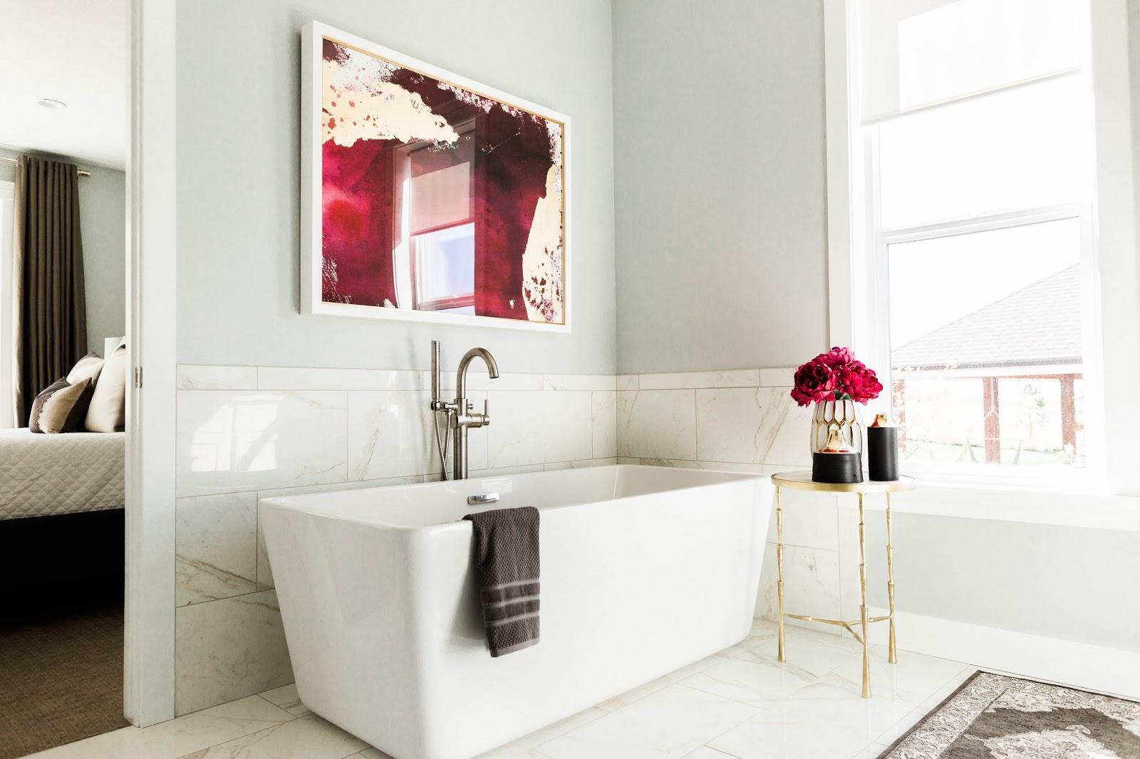 Mecham Dream Home || Master Bathroom Design Reveal