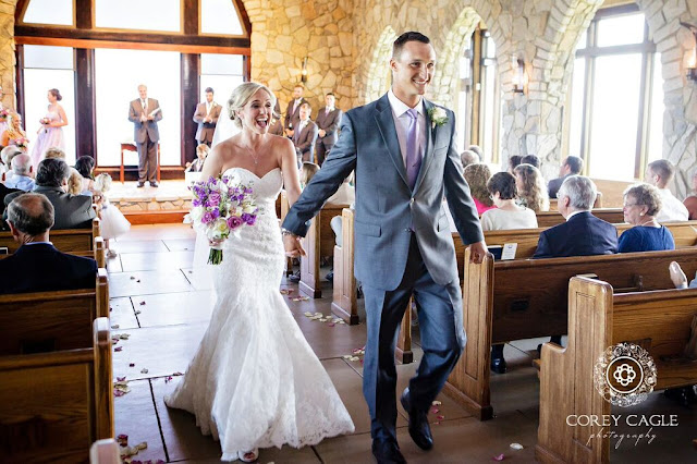 happy bride and groom | Corey Cagle Photography