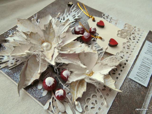 ozdoby na kartce-gwiazdy z papieru