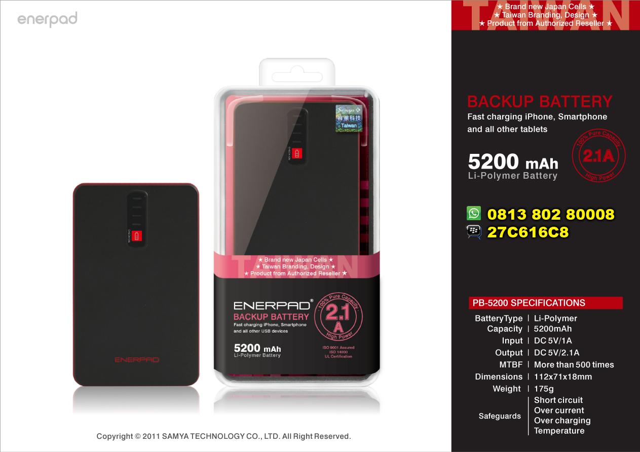 Jual Power Bank Enerpad: Produk Enerpad