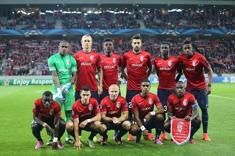 Đội hình ra sân của CLB Lille