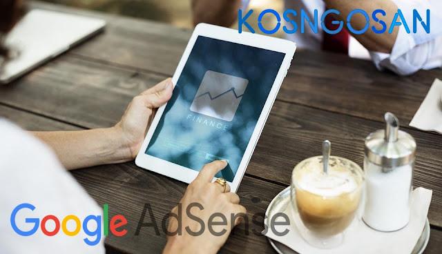 menghasilkan uang google adsense