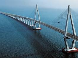Puente de la Bahía de Hangzhou ¡El mas largo del mundo!