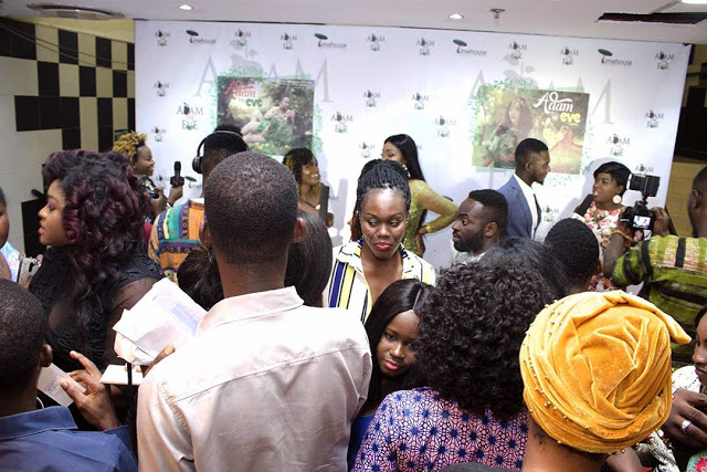 """Photos : """"Adam The Eve"""" Shakes Silverbird Cinemas With Massive Turn Out"""