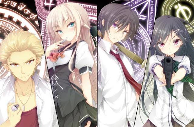 Top Sword Anime Series ( Where the Main Character Uses a Sword) - Mahou Sensou (Magical Warfare)