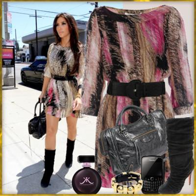 bce25cf67c9de kardashian high end  Street Style Kim Kardashian