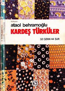 Ataol Behramoğlu - Kardeş Türküler -çeviri