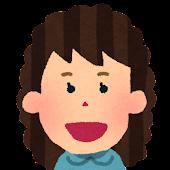 女性の顔アイコン 10