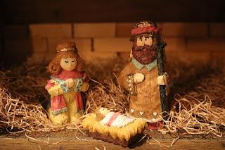 Mary, Joseph, baby Jesus
