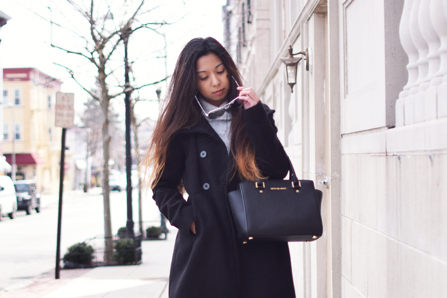 Styling Long Coats and Oversized Sweaters