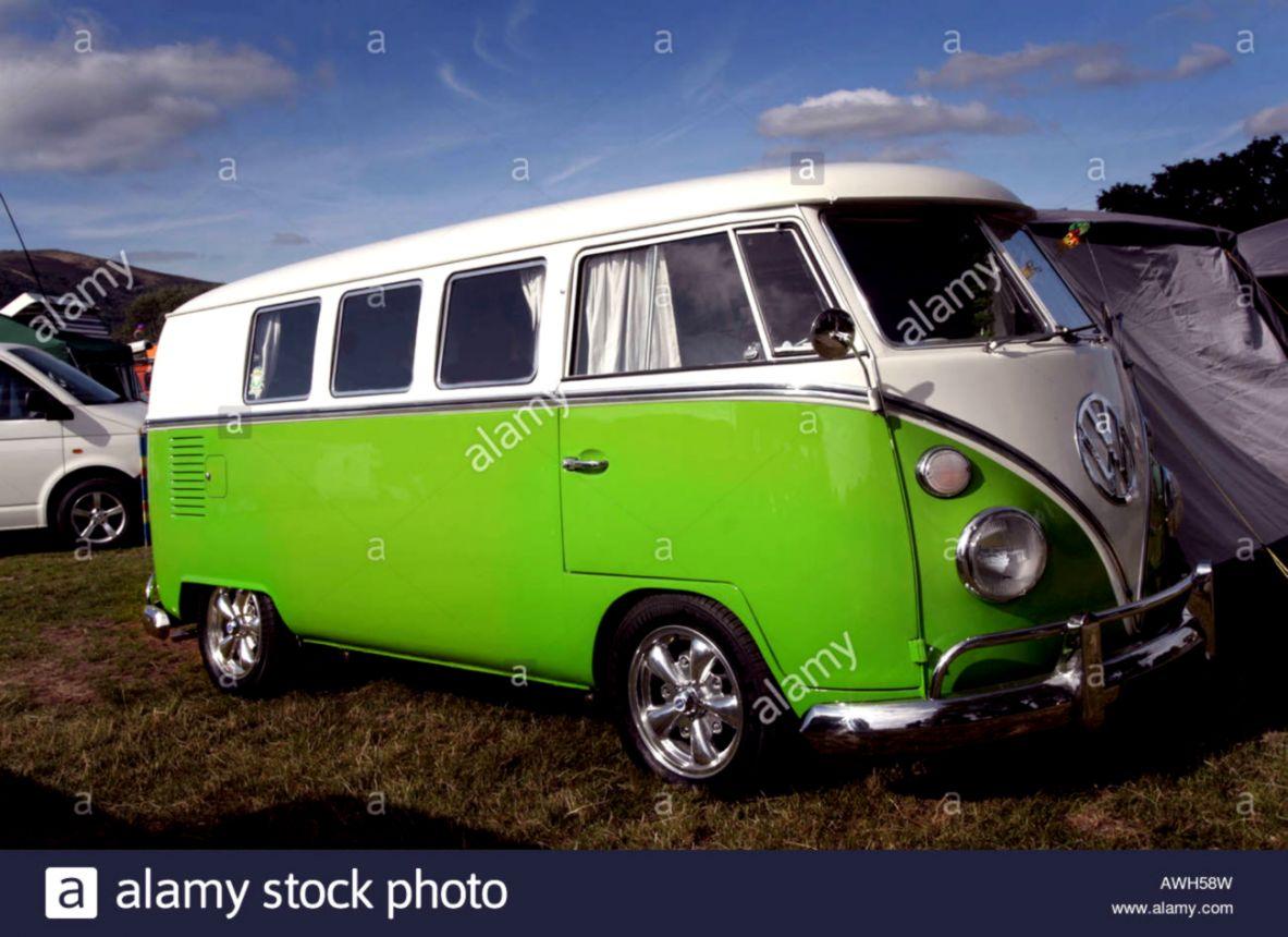 Vw Combi Green Car Wallpapers Jleb