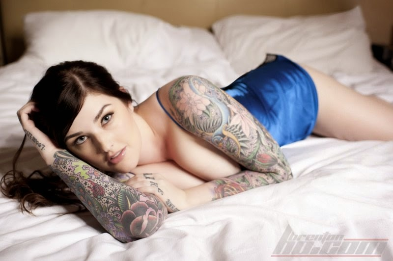 Amie Double D | Female Models With Tattoos | Tattooed Girls