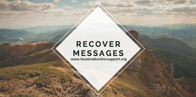 How to recover deleted messages in Facebook messenger