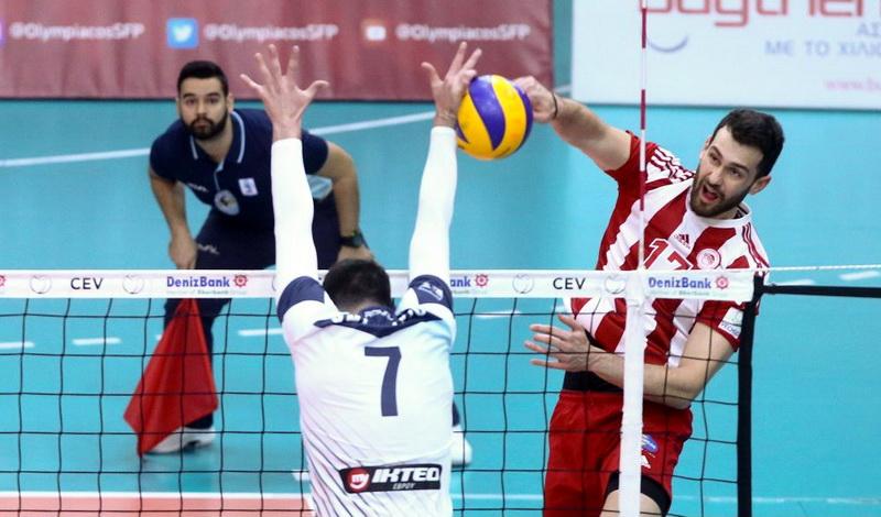 Ο Ολυμπιακός νίκησε 3-0 τον Εθνικό Αλεξανδρούπολης