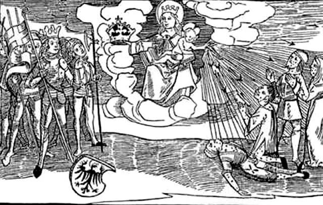 Trinkgelage im Mittelalter wurden mit Syphilis bestraft