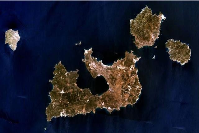 Geography, Milos Island