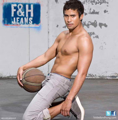 Sam Milby shirtless for Folded and Hung new ad campaign