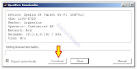Download Sony Xperia Z4 Tablet Firmware