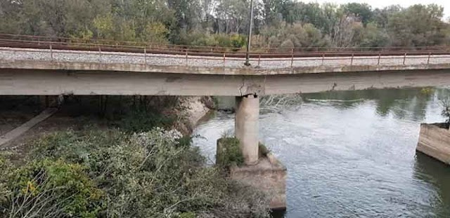 Mazedonien: Eisenbahnverkehr Veles - Gevgelija wegen defekter Brücke unterbrochen