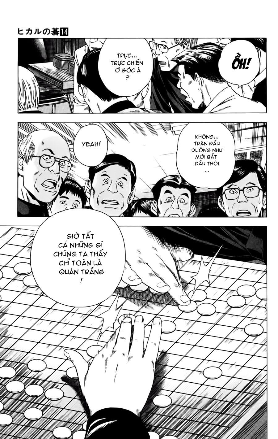 Hikaru No Go hikaru no go chap 120 trang 8