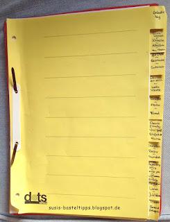Stempel index diy hefter zum Organisieren von schriftstempeln demonstratorin von stampin up