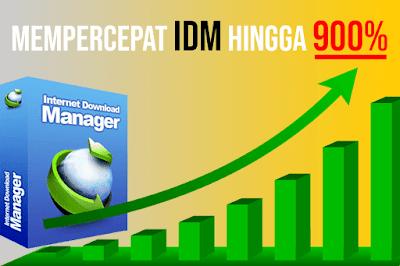Tutorial cara Mempercepat Download dengan IDM