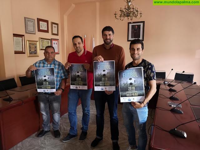 Abiertas las inscripciones para participar en el XII Campus de Fútbol Isla de La Palma, en Breña Alta
