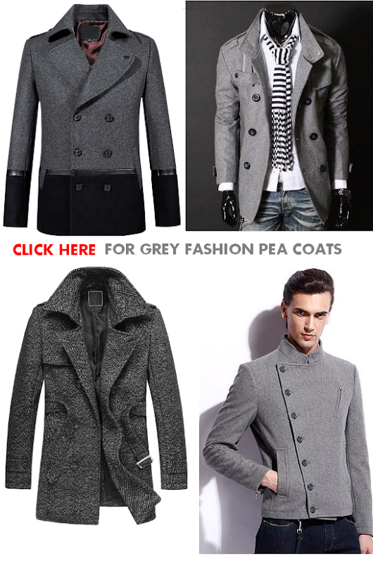 Why You Should Own A Grey Pea Coat