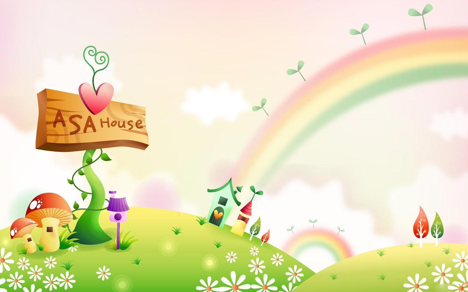 Cute Cartoon Backgrounds Free Download: Giro Pelo Mundo: Fundo Temático 10