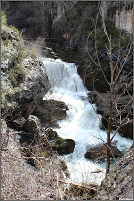 El Río Guadiela en la Hoz De Toriles