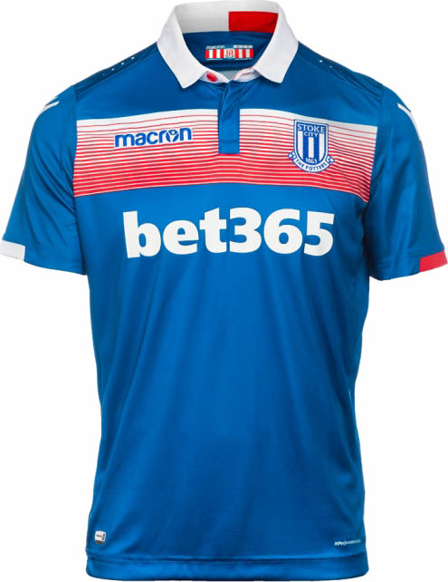 Stoke City 17 18 Home Away Kits Released Footy Headlines