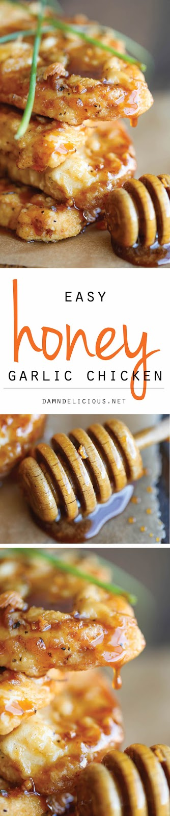HONEY GARLIC CHICKEN RECIPES
