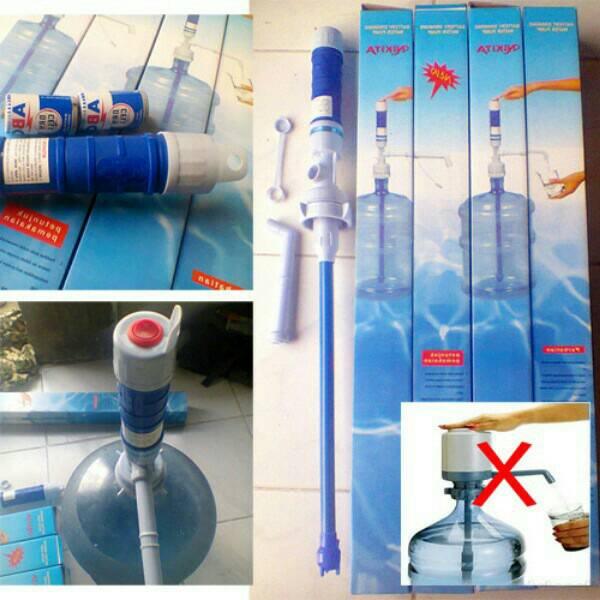 Zeecollection86 Pompa Air Minum Galon Elektrik Baterai Drinking Water Pump