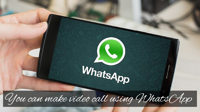 video call using whatsapp