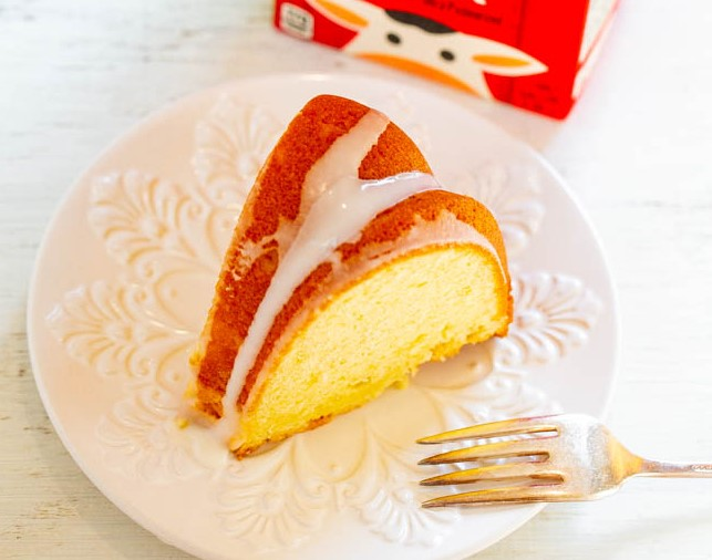 GLAZED POUND CAKE RECIPES