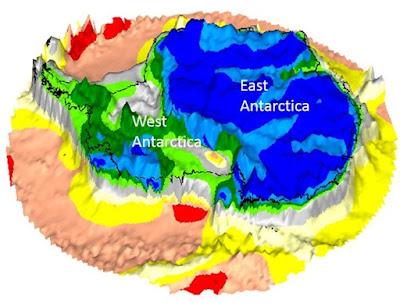 Peninggalan Benua Yang Hilang Ditemukan Di Bawah Es Antartika