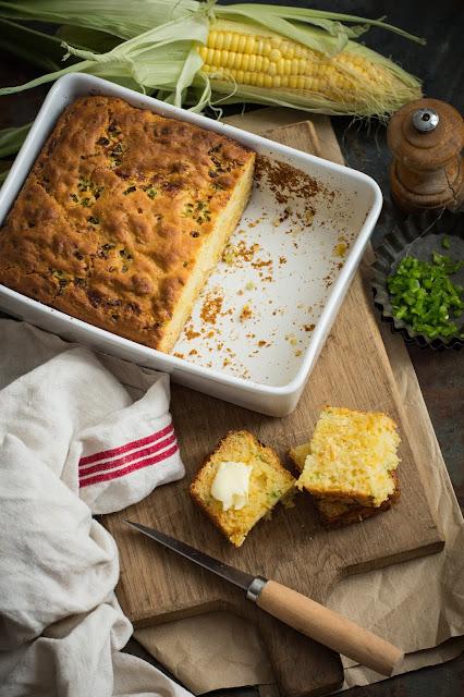 Cornbread et beurre