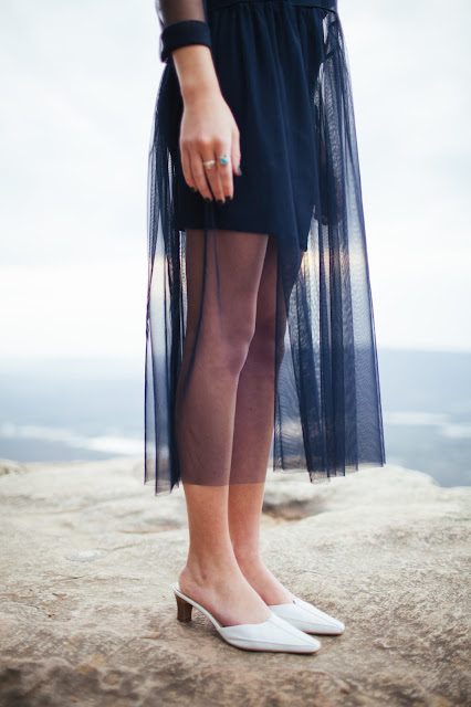 modest deposits sheer skirt