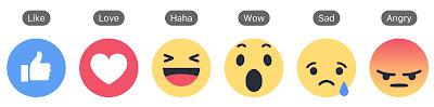 Die neuen Reactions auf Facebook