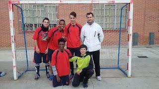 Equipo Futbol-Sala Cadete Masculino Piee el Portillo