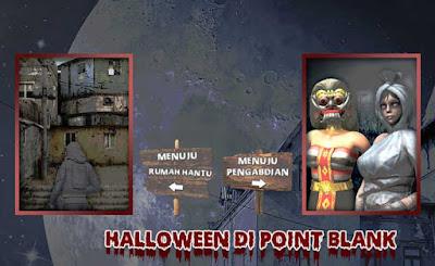 Event PB Garena Halloween Rumah Hantu dan Pengabdian Pocong dan Rangda serta Redeem Hadiah