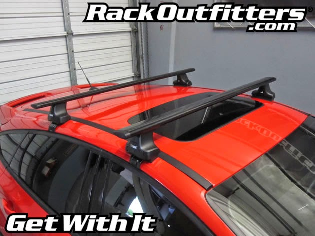 Rack Outfitters: NEW Ford Focus ST Thule Rapid Traverse ...