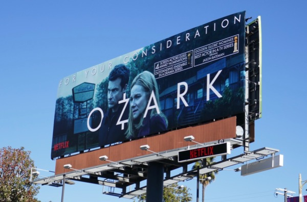 Ozark season 2 SAG Awards Globes billboard