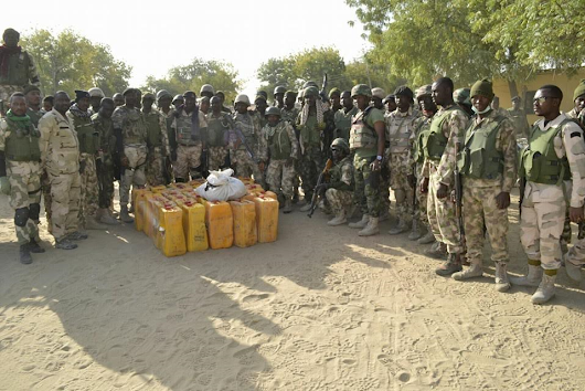Nigerian Troops Intensified Operations To Clear The Remnants Of Boko Haram Terrorists. (Photos)