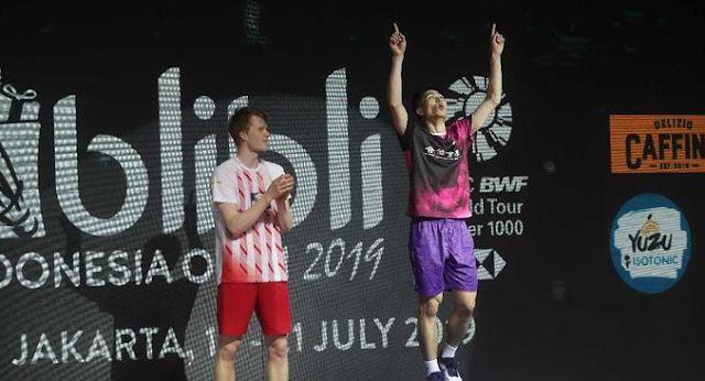 Ada Aroma Indonesia pada Juara Chou Tien Chen di Indonesia Open