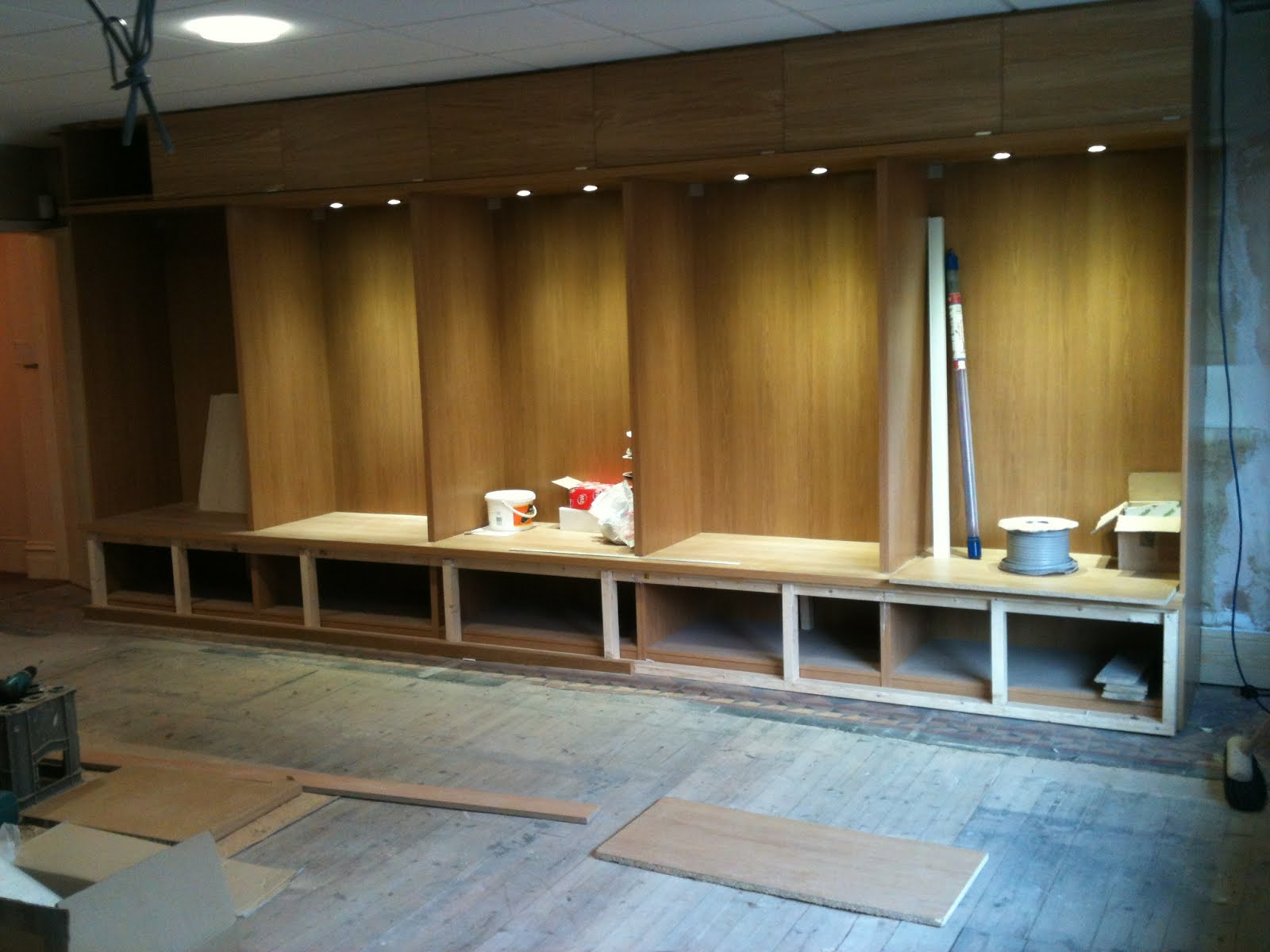 Stolmen Bed Hack Pax Wardrobe As Jewellery Shop Display Cabinets Home